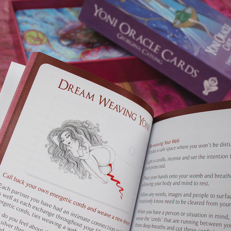 Yoni Oracle Cards Product Shot 1