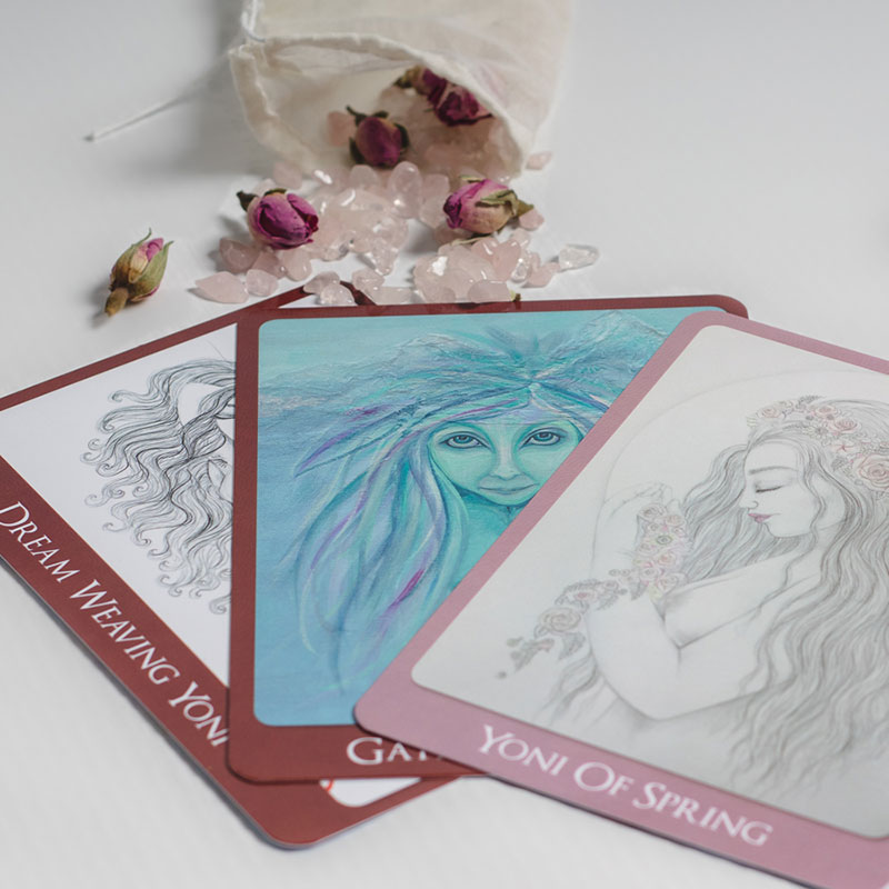 Yoni Oracle Cards Product Shot 2